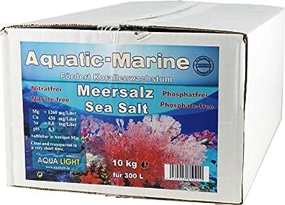 Aquatic Sel marin pour aquarium, 10 kg