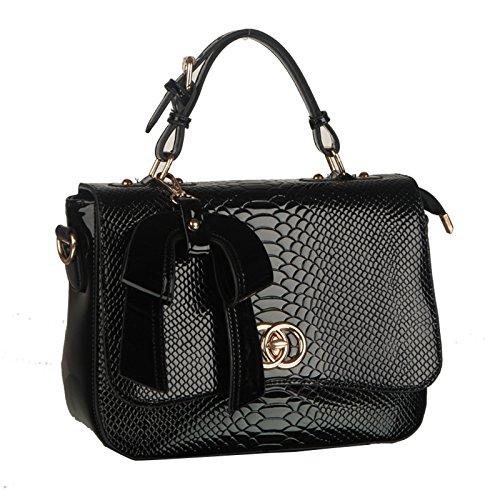 NiaNia ,  Damen Tasche schwarz