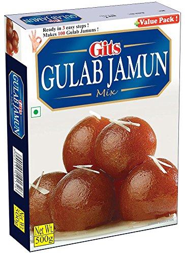 Gits Instant Gulab Jamun Dessert Mix, 500g