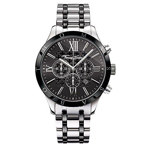 Thomas Sabo Reloj de Pulsera WA0139-222-203-43 mm