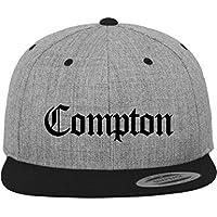 Mister Tee cappello Compton  Multicolore melange Grigio / Nero Taglia unica