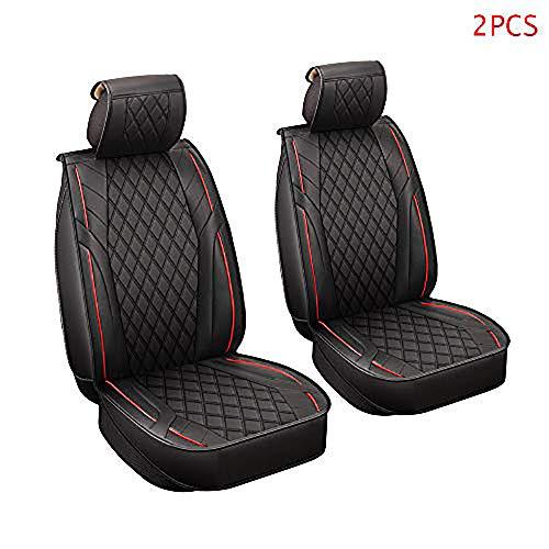 Walking Tiger Coprisedili per sedie Accessori per Auto 2 Pezzi Nero Adatto per Golf 4 5 6 7 Mk4 Mk5 Mk6 Mk7 IV VI VI Jetta CC Lupo Rapid Roomst