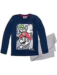 Super Mario Bros Garçon Pyjama 2016 Collection - bleu marine