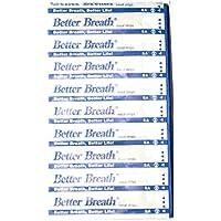 Better Breathe - Tiras nasales para respirar mejor y no roncar (talla S/M, 100 unidades)