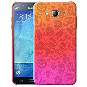 Theskinmantra Halloween back cover for Samsung Galaxy J7