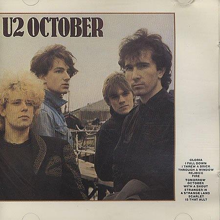 U2 October - Original With No Barcode 1986 UK CD album CID111(90092) (U2-october-cd)