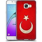Head Case Designs Turquie Turque Drapeaux Vintage Étui Coque en Gel molle pour Samsung Galaxy A5 (2016)