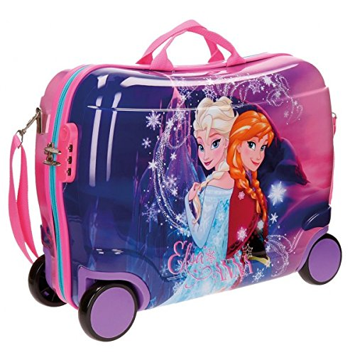 Imagen de disney abs maleta rigida cabina ruedas trolley convertible en  02 frozen  alternativa