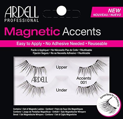 Ardell magnetisch Lash Akzente 001 (Wimpern-band)