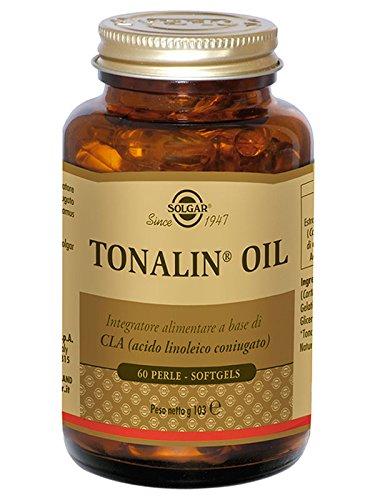 Solgar Tonalin Oil Integratore Alimentare per il Controllo del Peso - 60 Perle