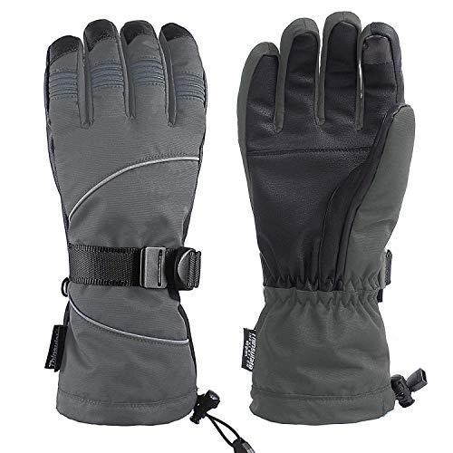 Unigear Skihandschuhe, Winterhandschuhe, Touchscreen Handschuhe, Ski/Snowboard Handschuhe für Herren und Frauen, Top Wasserdicht und Warm