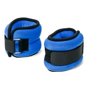pair de poids pour chevilles et poignets bracelets lest s 2 kg chacun sports et. Black Bedroom Furniture Sets. Home Design Ideas