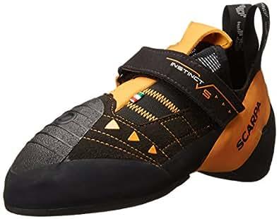 SCARPAINSTINCT VS Climbing Shoe-U - Chaussures d'escalade Instinct VS - Unisexes Homme, Orange (Noir/Orange), 36 EU
