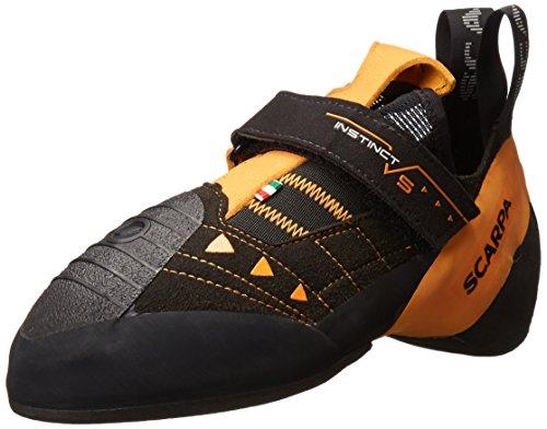 Zapatillas de Escalada para Hombre de SCARPA® Instinct VS, Negro (Negro/Naranja), 44.5...
