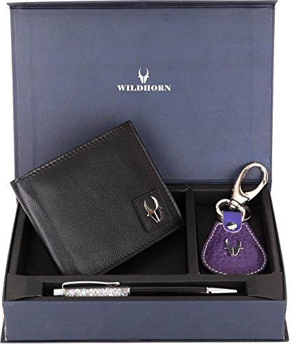 wildhorn black men's wallet WildHorn Black Men's wallet 514y0KRYOtL