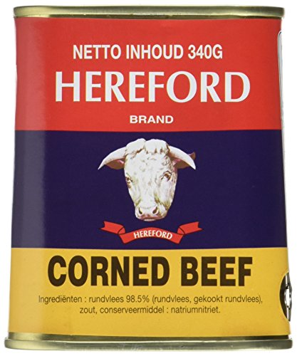 Hereford Rindfleisch/corned beef, 4er Pack (4 x 340 g)