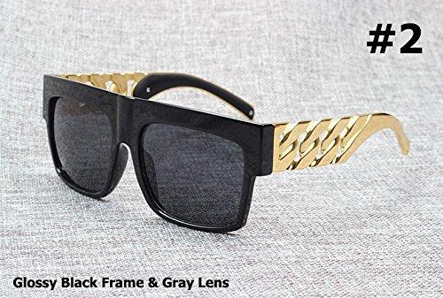Aprigy Fashion Ber¨¹hmtheit spornte Goldmetallkette Kim Kardashian Beyonce Sonnenbrille...