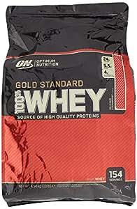 Optimum Nutrition Gold Standard 100% Whey Protein Powder - 4.54 kg, Strawberry