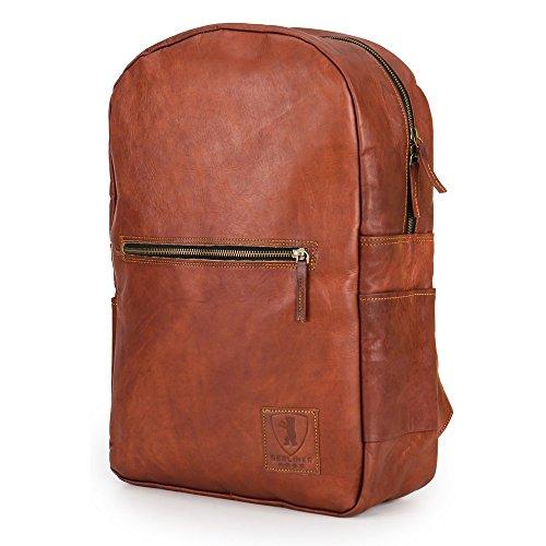 3f3b4dd6389b8 Rucksack für Laptop BERLINER BAGS Hamburg XL aus Leder Notebookrucksack  15