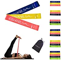 CIVAH resistance loop bands natural latex exercise band workout for hysical therapy pilates yoga rehab sport fitness belt