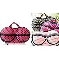 Kuber industrias sujetador y panty, ropa interior organizador bolsa de viaje ropa interior sujetador bolsa de almacenamiento 1pcs (color y diseño puede variar)–ki3327