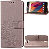 KM-WEN® Case for ZTE Blade L5 / L5 Plus (5 Inch) Embossing