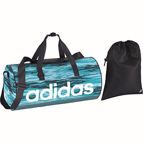 adidas Damen Linear Performance Team Sporttasche Iceblu