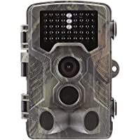 "Suntek Wildkamera Fotofalle 16MP 1080P Full HD Jagdkamera 120 ° Weitwinkelobjektiv Vision Infrarote 20m 42 IR LEDs IP65 Wasserdicht 2.0"" LCD Display 800A"
