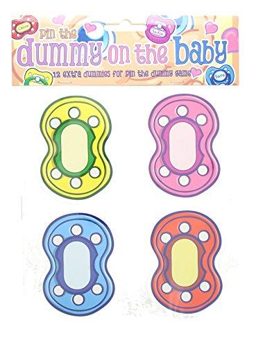 Alandra dum-baby Baby Dusche Pin der Schnuller auf das Baby Schnuller Spiel