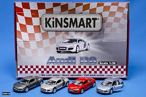Kinsmart Audi R8 520016. Coche - modelo aleatorio.