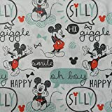 Craft Cotton Co Mickey Mouse Stoff, Vintage-Stil, 50 x 110