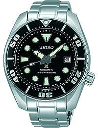 Seiko Herren-Armbanduhr Prospex Analog Automatik Edelstahl SBDC031
