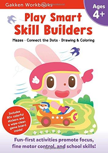 Play Smart Skill Builders 4+ (Gakken Workbooks)