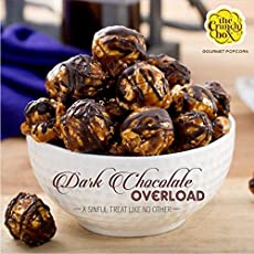 The Crunch Box Popcorn Dark Chocolate & Snowberry Sweet (Pack of 2) 200 GMS