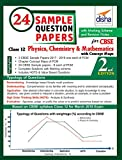 24 Sample Question Papers for CBSE Class 12 Physics, Chemistry, Mathematics with Concept Maps