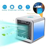 EMNDR Arctic Air Portable 3 in 1 Conditioner Humidifier Purifier Mini Cooler (White)