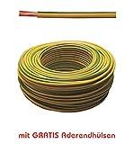 Bild des Produktes '20m Erdungskabel 16mm² - Grün/Gelb - H07V-K - Aderleitung feindrähtig flexibel'