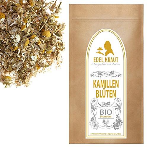 EDEL KRAUT | BIO KAMILLEN-BLÜTEN TEE geschnitten - Premium organic chamomile blossoms - 100g (Kamille-blüte)