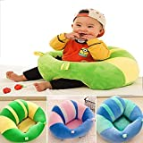 #6: Baby Soft Plush Cushion Cotton Sofa Seat Infant Safety Car Chair Learn to Sit Stool Training Kids Support Sitting for Dining - Various Colours & Designs