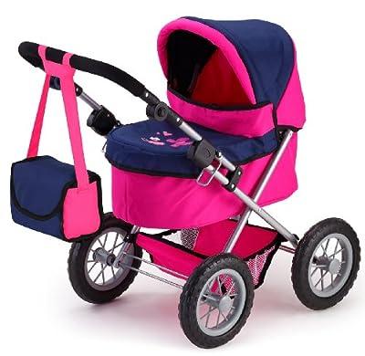 Bayer Design - Cochecito para muñecas Trendy, color rosa y azul (13013) por Bayer Design