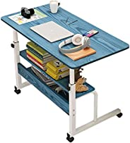 U HOOME Home Office Desk 31x16'' Moveable Height Adjustable Modern Computer PC Notebook Writing Workst