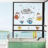 T-YXM Fensterbilder DIY handbemalte WaT-YXMerkocher Bonsai Fensterbank Hostel wohnen Schlafzimmer TV Wand dekorationwand Verputzen Wandbild