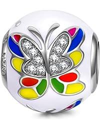 NinaQueen - Papillon Reve - Charm pour femme argent 925