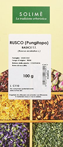 Rusco (Pungitopo) Radice Taglio Tisana - 100 g - Prodotto made in Italy
