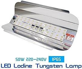 Vrct Led Flood Light 50W Ip65 Waterproof 220V 240V Iodine Tungsten Lamp,White