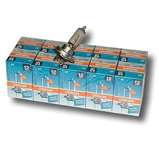 10x OSRAM Halogenlampe Glühlampe H7 LONFLIFE 12V 55W PX26d 64210L