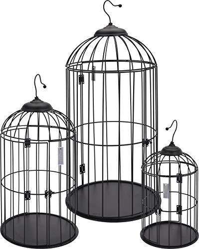 hibuy pájaro Jaula, Retro Vintage Style. Ideal para stylischen Decoración