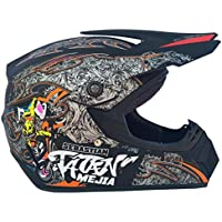 HHQ Casco de la motocicleta off-road racing downhill pedal casco masculino (Color :