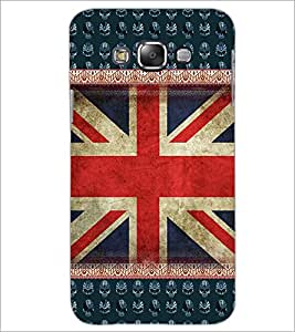 PrintDhaba UK Flag D-5098 Back Case Cover for SAMSUNG GALAXY A8 (Multi-Coloured)