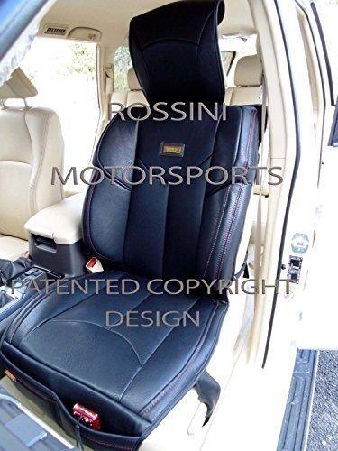 TO FIT A MITSUBISHI SHOGUN CAR RED // BLACK i YS06 RECARO SPORTS SEAT COVERS